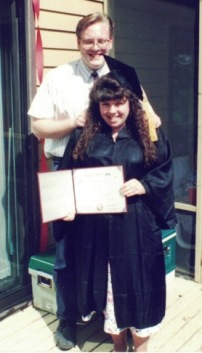 Karl & me on day of college grad copy